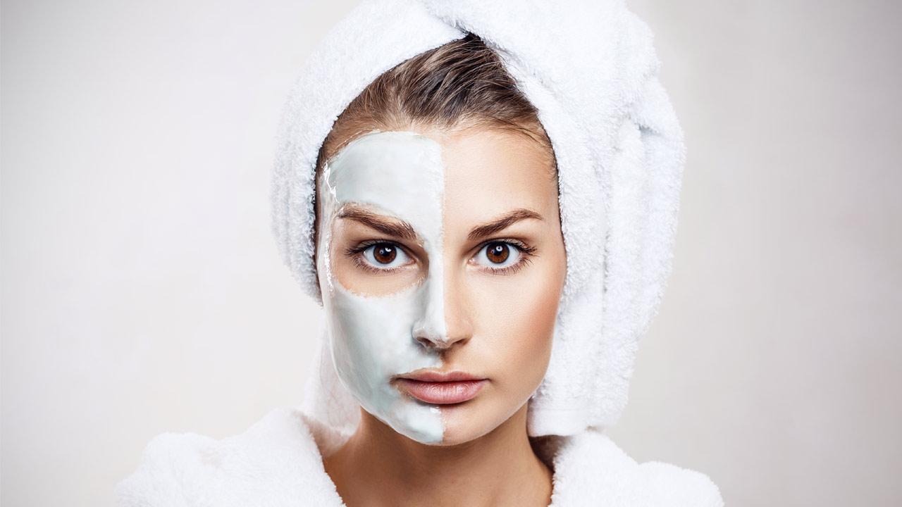 As máscaras para o rosto diariamente, hidratante, bem como de proteção