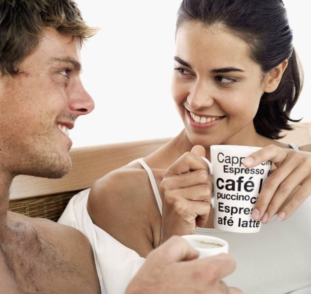 Café impacto sobre o desejo sexual